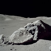 moon Apollo Schmidt boulder