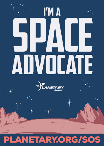 space pioneers is a space advocate
